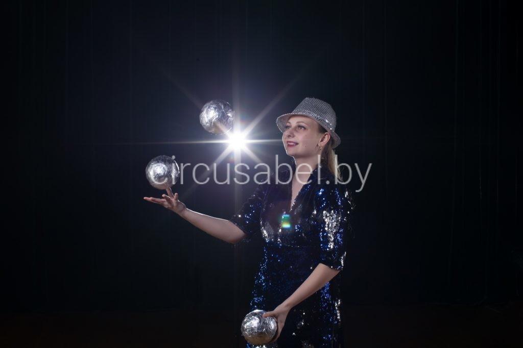 2.Соло-жонглер