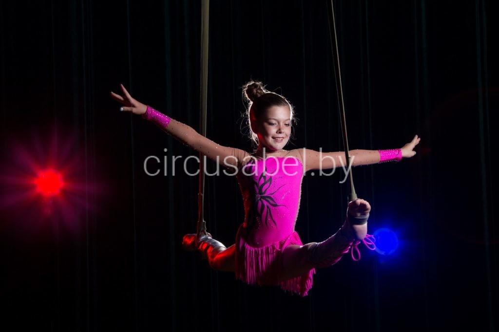 5.Воздушная гимнастка на ремнях